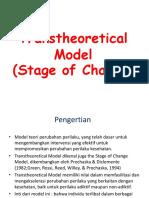Teori Transtheoritical Model