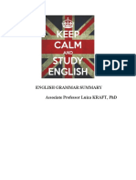 English Grammar Summary