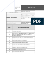6. Plan de Auditoria
