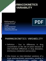 Pharmacokinetics Variability