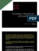 Funciones Indicativas de Los Productos