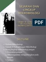 Sejarah Dan Lingkup Mikrobiologi