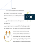 fruit flies and fast plants genetics paper