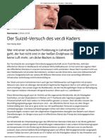 Der Suizid-Versuch Des Ver.di Kaders - Makroskop