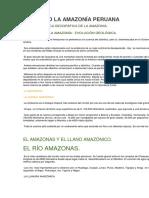 Historia d La Amazonía Peruana