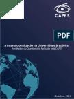 A Internacionalizacao Nas IES Brasileiras