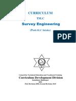 TSLC Survey Engineering Post SLC Revised Final 20151