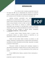 Proiect Diploma -Cutia de Viteze