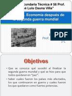 Economia Despues de Las Guerras