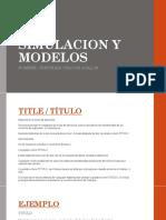 Simulacion y Modelos Diap.
