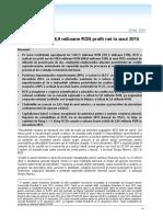 BCR Rezultate Financiare 2015