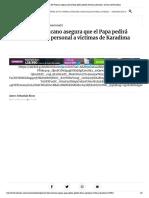 Portavoz del Vaticano asegura que el Pa... forma personal a víctimas de Karadima