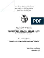 Registrador de Datos de Bajo Coste