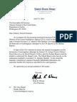 Read Warner request for Durham report