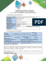 Guía de Actividades y Rúbrica de Evaluación - Fase 4 - Modelación Ambiental en Acción
