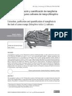 Extracción y Purificación de Magniferina