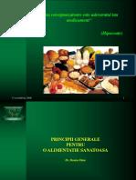 o Alimentatie Sanatoasa Proiect Formator
