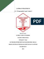 Laporan Praktikum Plc Satrio Cahyo n