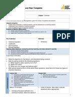 lesson plan balancing chemical equations 2-23