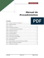 6. Manual de Procedimientos