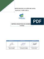 HSE-PR-006 - AV-Procedimiento de Excavación de Zanja Manual y Mecanica 01