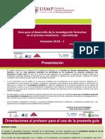 Guía Investigacion Formativa 2018-I_GC