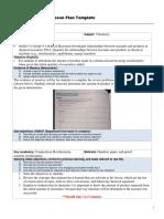 lesson plan signature assignment