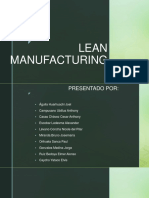 LEAN MANUfacturig