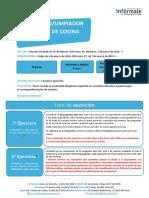 Fases Oposicion Xunta-limpiadorcamarero 2016