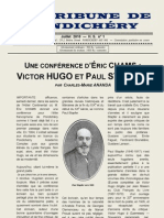V. Hugo et Paul Stapfer - conférence d'Eric CHAMS (2010)