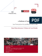 Balise d'Opinion 26 Ifop-Fiducial pour Sud Radio et CNews