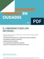 Intervenciones Urbanas en Ciudades