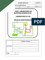 06 - Válvulas Direccionales Hidráulicas 2018.1