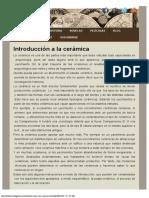Introducción a La Cerámica Histórico Digital