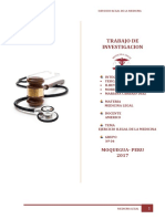 Trabajo Medicina Legal