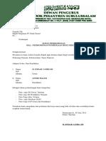Surat Permohonan p. Rekening Bank 190