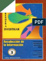 3. Recolección de La Información Aprender a Investigar Icfes
