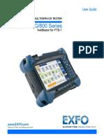 Manual Exfo Ftb-1