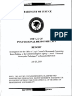 DOJ- Office of Professional Responsibility- Investigation Into Improper Government Lawyer Activity