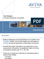 New Bolting for Pdms