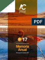 Aeropuerto El Loa de Calama - EEFF 2017