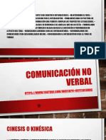 Clase Comunicacion No Verbal