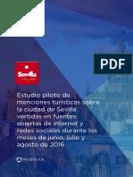Estudio Menciones Turísticas Vertidas en Internet 2016