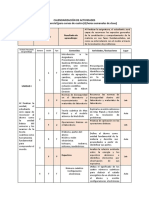 Calendarización de Actividades (2)