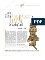 How Elan Grew by Staying Small