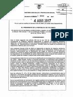 Decreto 582 Del 04 de Abril de 2017