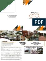 Brochure Nueva Era Arquitectura