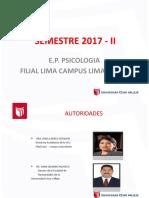 Responsables Filial Lima Norte