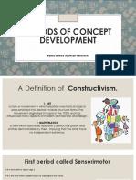 periods of concept development