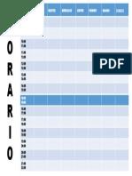 horario de Planificacion de tecnicas de estudio.pptx